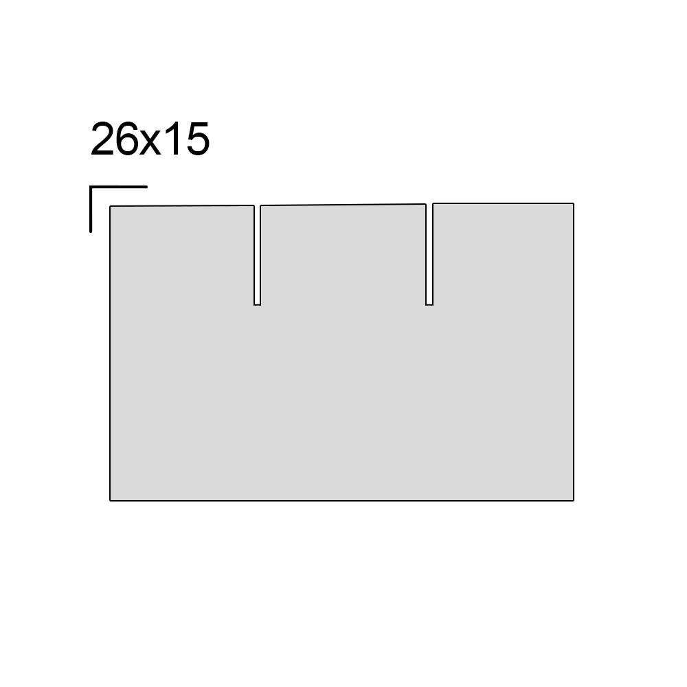 Rolo de Etiqueta M-26 26x16mm Quadrada 10 Unidades com 1000 Etiquetas - WestPress