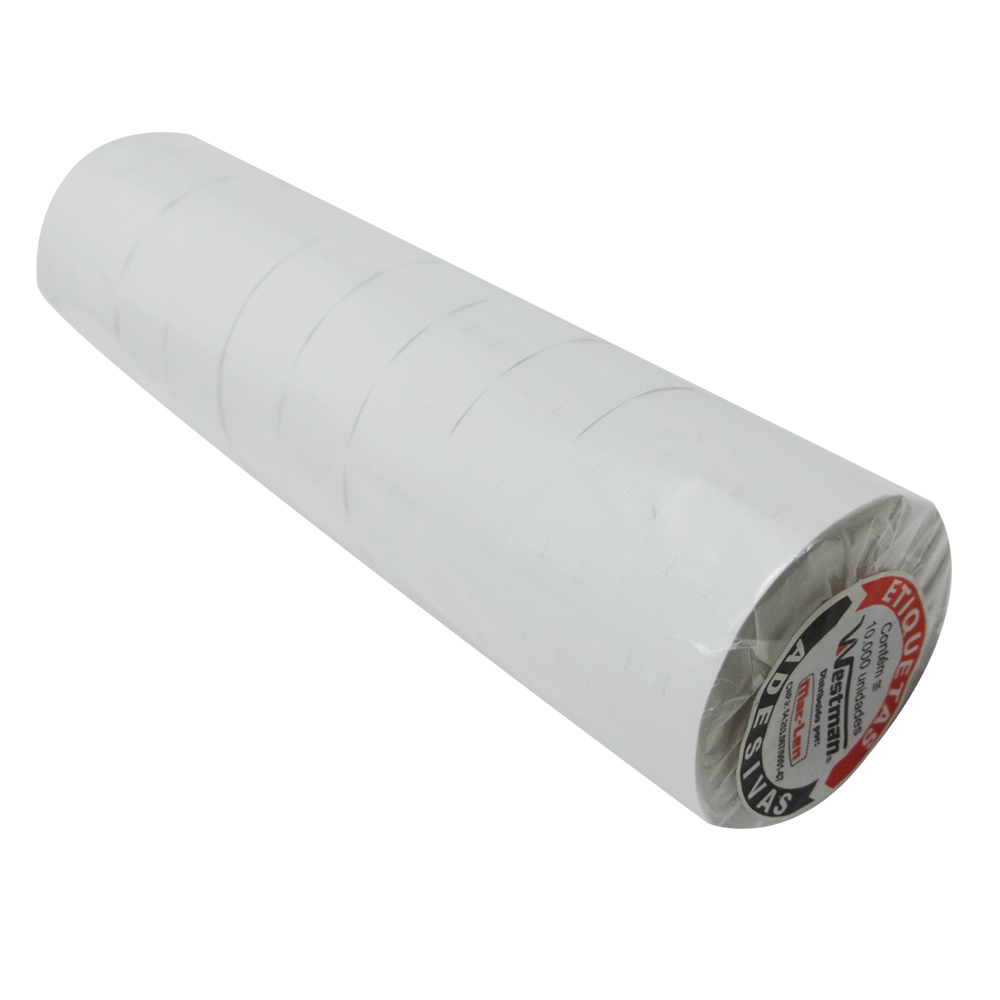 Rolo Etiqueta 23x16mm para Etiquetadora ML-2316 com 10 rolos - WestPress