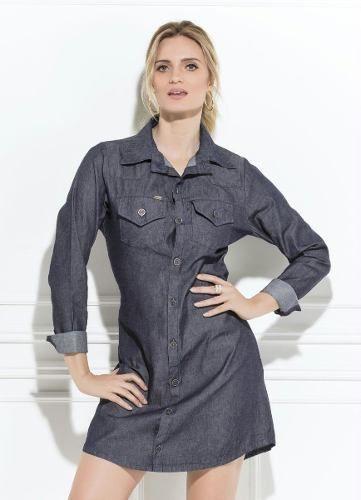 87ef1239a produto vestido analice cinza - Vestido - De R 96