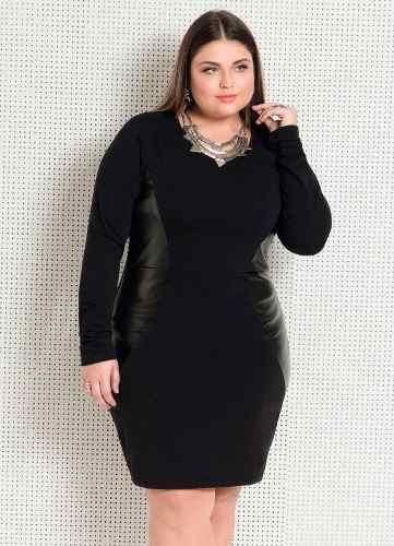 7840faed373b vestido plus size festa social chiffon rosa elegante luxo - Curto ...