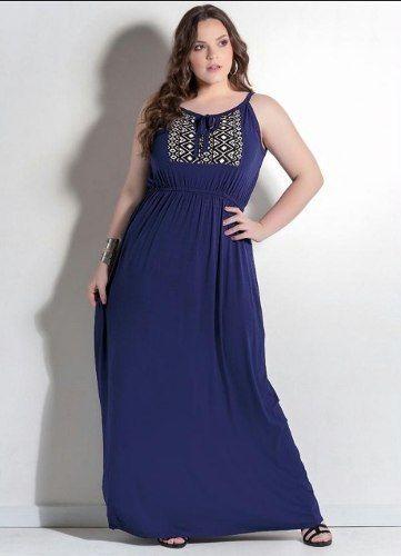 0c39b8b087cb vestido plus size festa social chiffon rosa elegante luxo ...