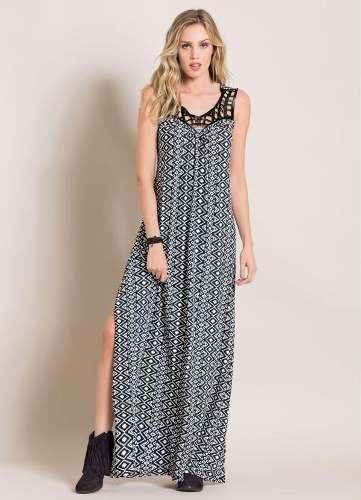 599ffb81c3 vestido evangelico manga curta plus size feminino florido - - Marca ...