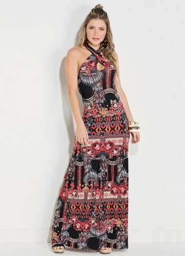 e8b8d6119d vestido evangelico longo malha alta qualidade promocao - Vestido ...