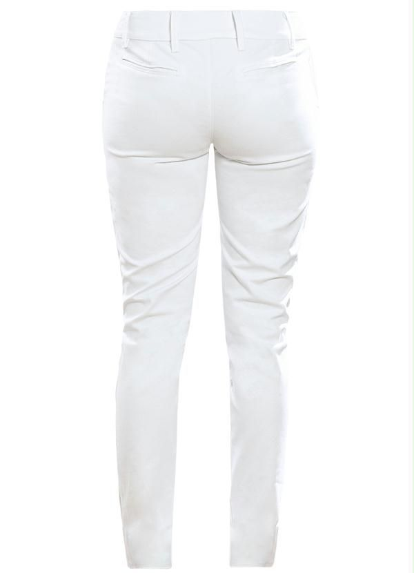 Calça Social  Skinny Branca