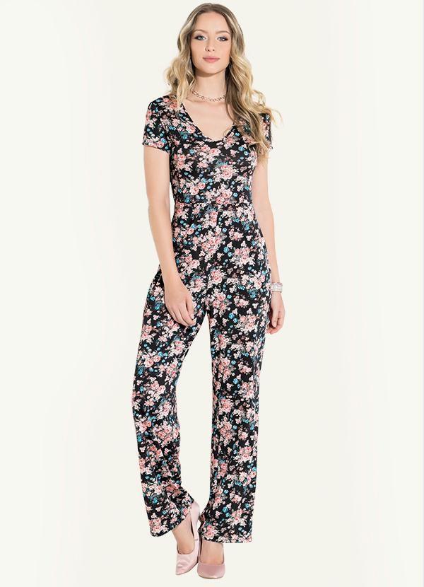 9842234c2 macacao pantalona pink rosa sem mangas plus size - - De R$65,50 a R ...