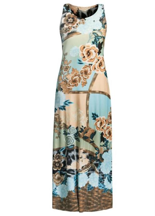 Vestido Florido Regata