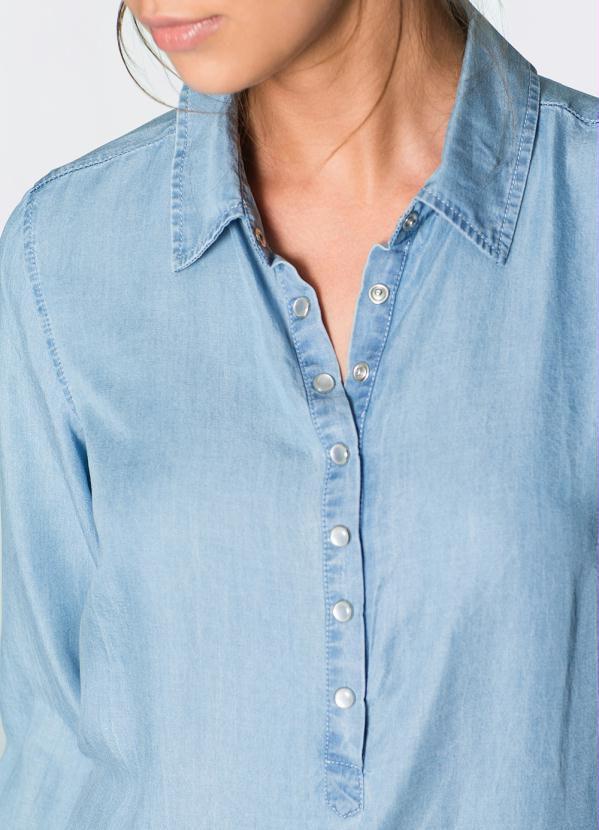 Vestido Jeans Claro Chemise