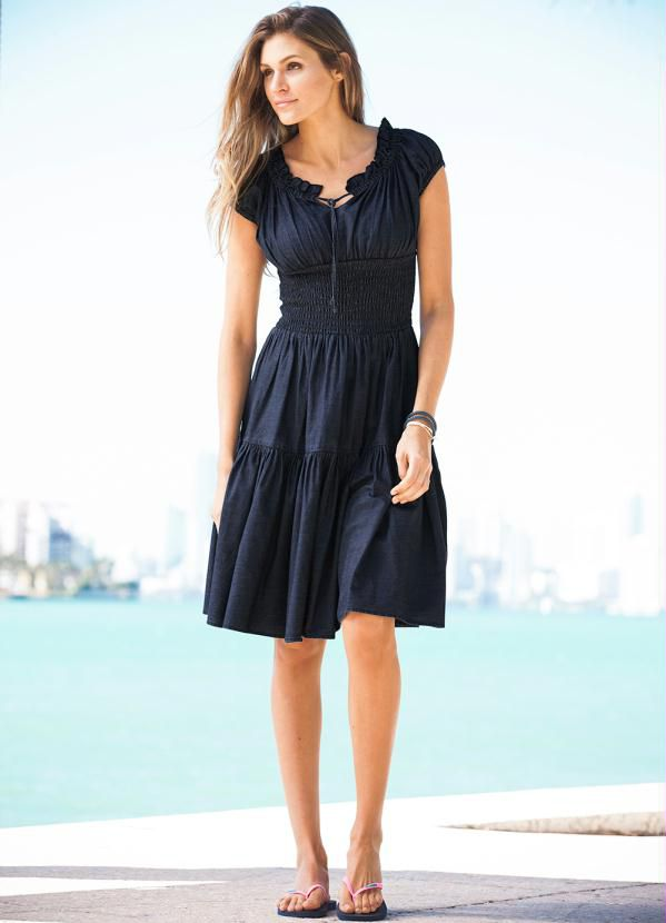 f2e1d75fd2 vestido evangelico longo manga curta azul plus size - Vestido ...