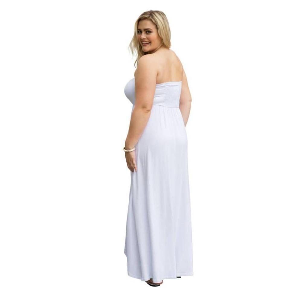 Vestido Tomara que Caia Branco