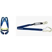 Cinturão Paraquedista 1 Ponto 2002 + Talabarte em I Com ABS 6002-A