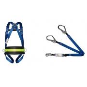 Cinturão Paraquedista 4 Ponto de Ancoragem 2006 Com Talabarte Y 55 ABS 6002