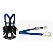 Cinturão Paraquedista 5 Pontos 2007 + Talabarte I ABS 6002-A