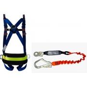 Cinturão Paraquedista 5 Pontos Espaço Confinado 2005 + Talabarte I ABS 6004-A