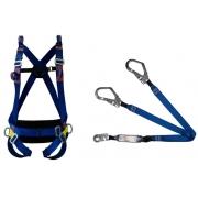 Cinturão Paraquedista 5 Pontos Espaço Confinado 2005 + Talabarte Y ABS 6002