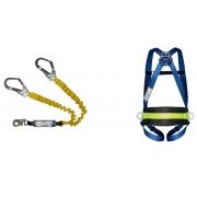 Cinturão Paraquedista Life 2004 3 Pontos Com Talabarte Y Elastizado ABS 6004