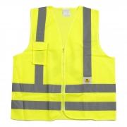 Colete de Segurança Super Safety Refletivo 1 Bolso Verde Tamanhos