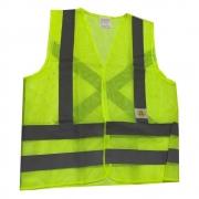 Colete de Segurança Super Safety Refletivo Sem Bolso Amarelo