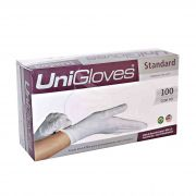 Luva Procedimento Unigloves Standard Látex Com Pó Branca