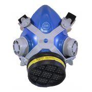Respirador Semi Facial Destra Mig 21 Com Filtro Voga + Pre Filtro P2 + Tampa Acoplar