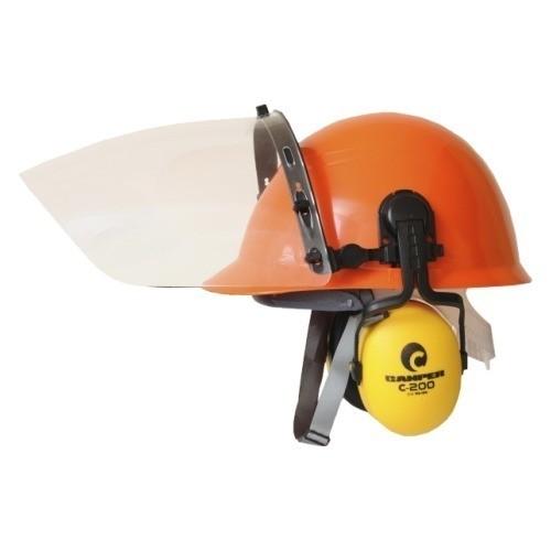 Kit de Segurança Capacete, Facial e Abafador