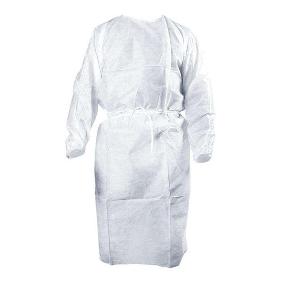 Avental Descartável AnaDona Tnt Branco - 100 Unid.