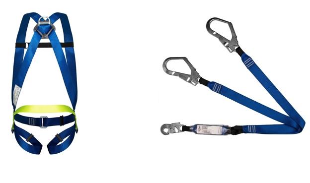 Cinturão Paraquedista 1 Ponto 2002 + Talabarte Y Com ABS 6002
