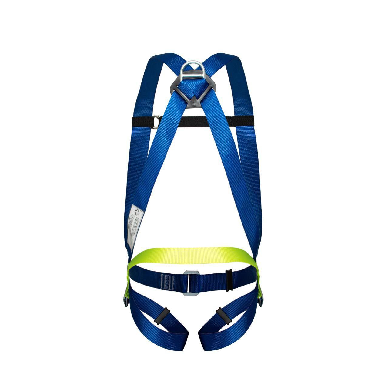 Cinturão Paraquedista 1 Ponto de Ancoragem Dorsal com Ajuste Life 2002