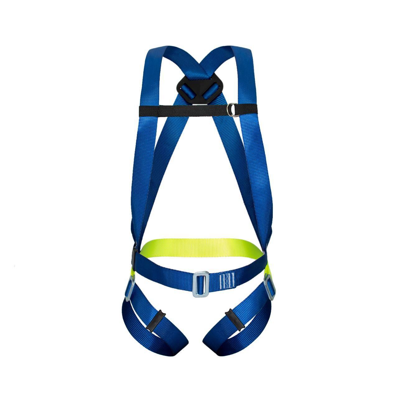 Cinturão Paraquedista 1 Ponto + Talabarte Y Elatizado Com ABS 55