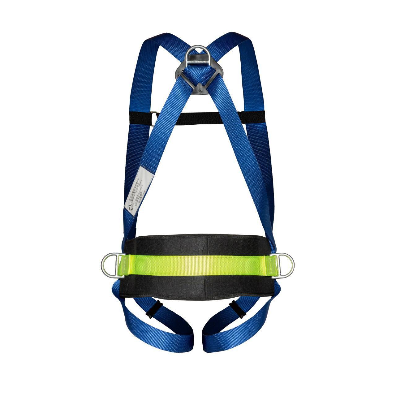Cinturão Paraquedista 3 Ponto de Ancoragem Com Talabarte Y 55 Elastizado Com ABS
