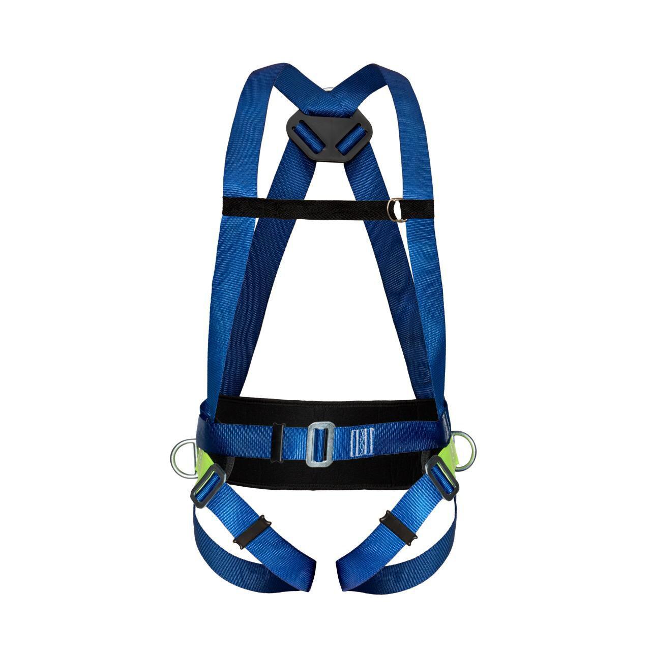 Cinturão Paraquedista 3 Ponto de Ancoragem Proteção Lombar Life 2004