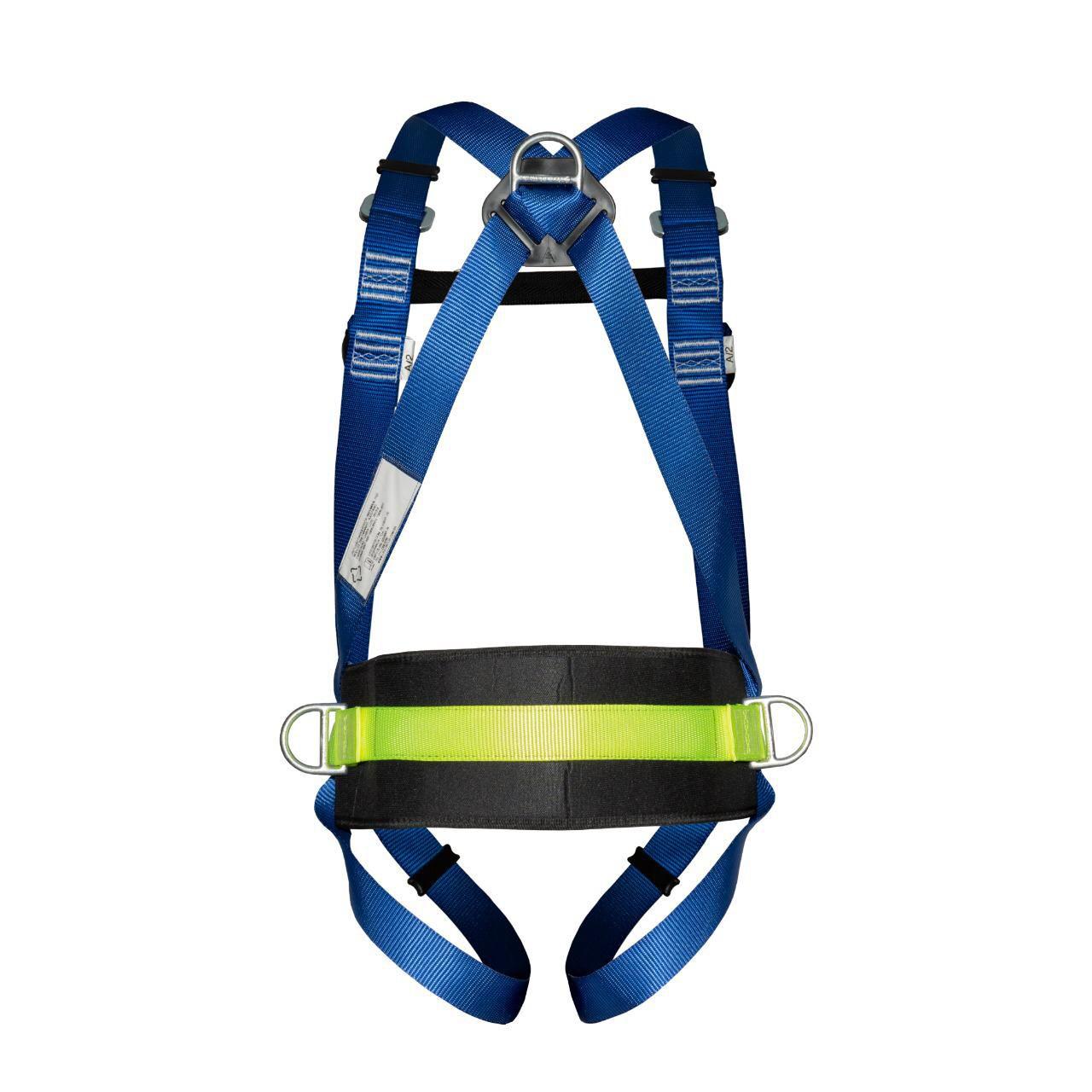 Cinturão Paraquedista 4 Ponto de Ancoragem Com Talabarte Y 55 Elastizado ABS