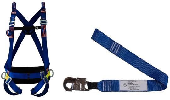 Cinturão Paraquedista 5 Pontos 2005 Espaço Confinado + Talabarte Simples 1 Gancho 6001