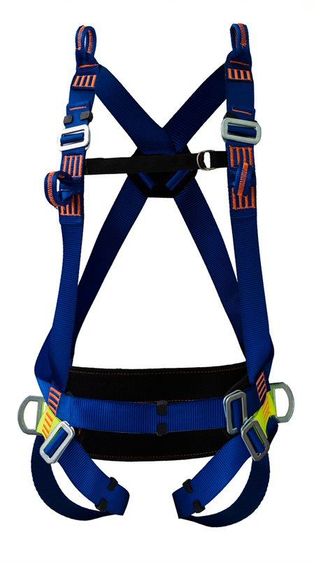 Cinturão Paraquedista 5 Pontos 2005 + Talabarte de Posicionamento 6006