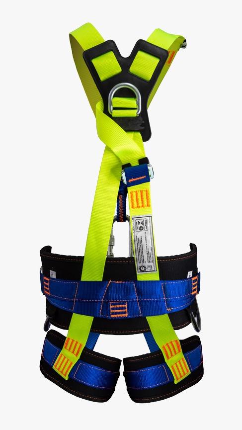 Cinturão Paraquedista 5 Pontos 2008 + Talabarte Y ABS 6002
