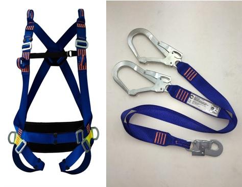 Cinturão Paraquedista 5 Pontos Espaço Confinado 2005 + Talabarte Y 6000-A