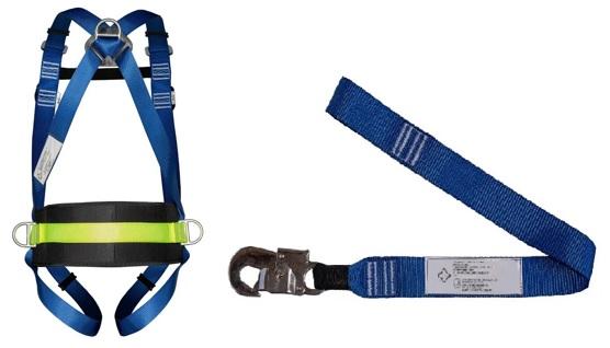 Cinturão Paraquedista Life 2006 4 Pontos Com Talabarte Simples 1 Ganho 6001