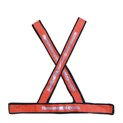 Colete de Segurança Em X Refletivo Caperê Laranja 5 Unid.