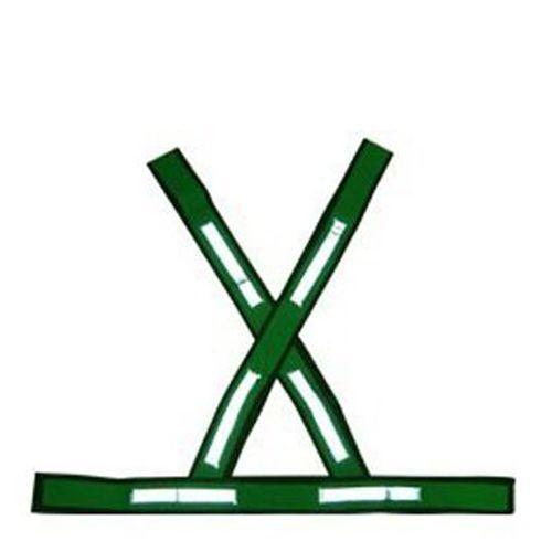 Colete de Segurança Em X Refletivo Caperê Verde 5 Unid.