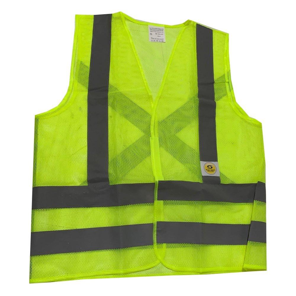 Colete de Segurança Super Safety / Vicsa Refletivo Sem Bolso Verde