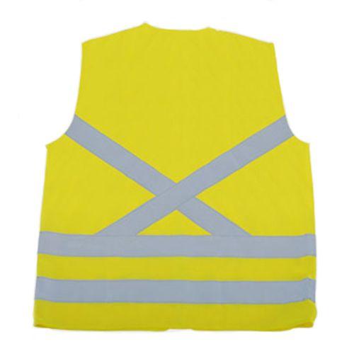 Colete de Segurança Super Safety Refletivo Sem Bolso Verde