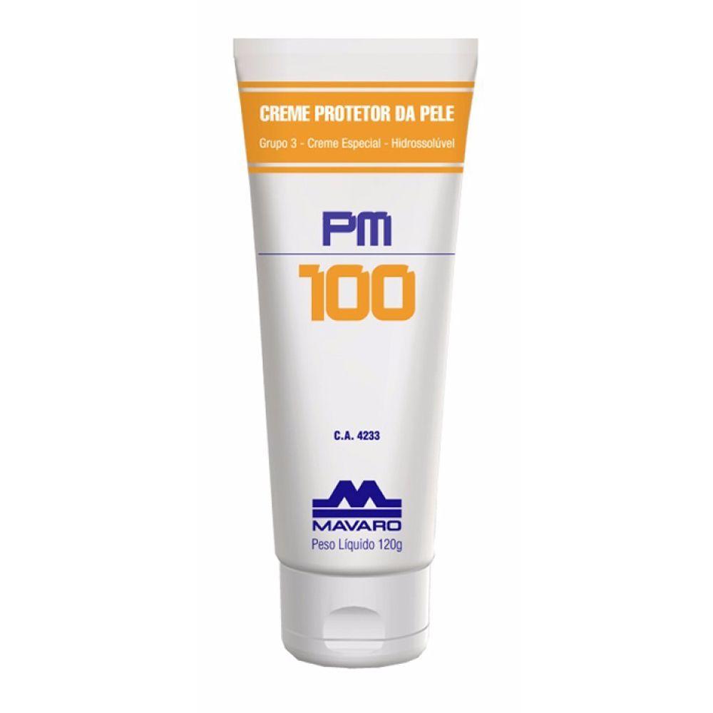 Creme Protetor Mavaro Para as Mãos Pm 100 120g