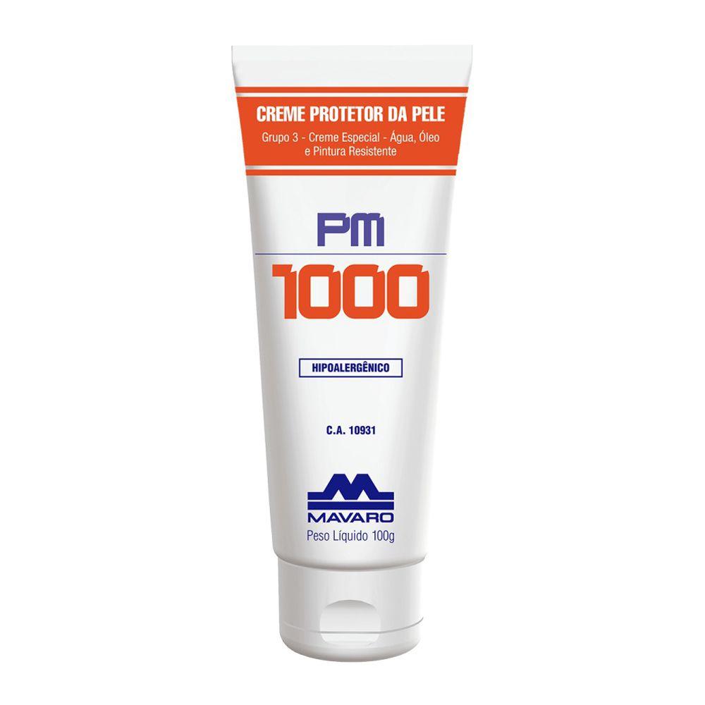 Creme Protetor Mavaro Para as Mãos Pm 1000 120g
