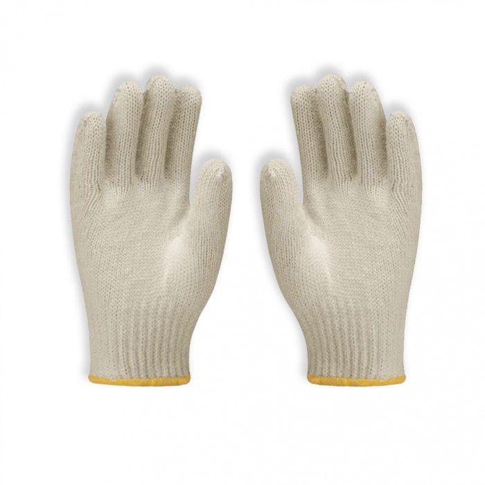Luva Tsuzuki De Malha Tricotada Algodão Branca CA 10573