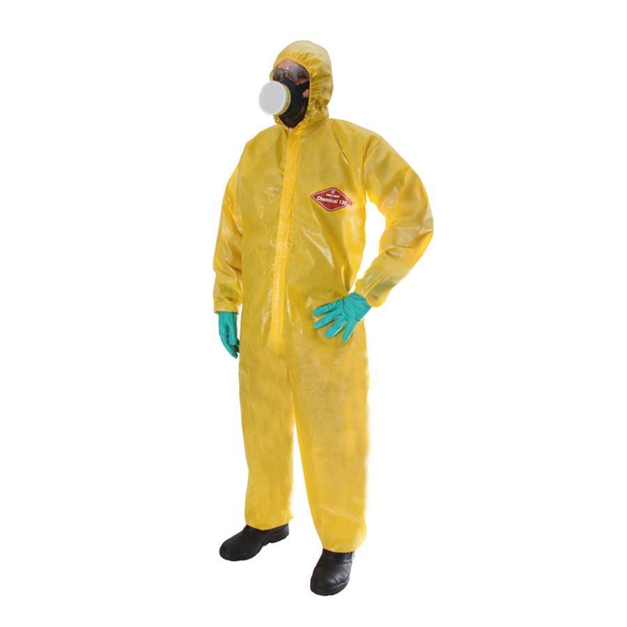 Macacão de Segurança New Prot Chemical 130 TNT Amarelo