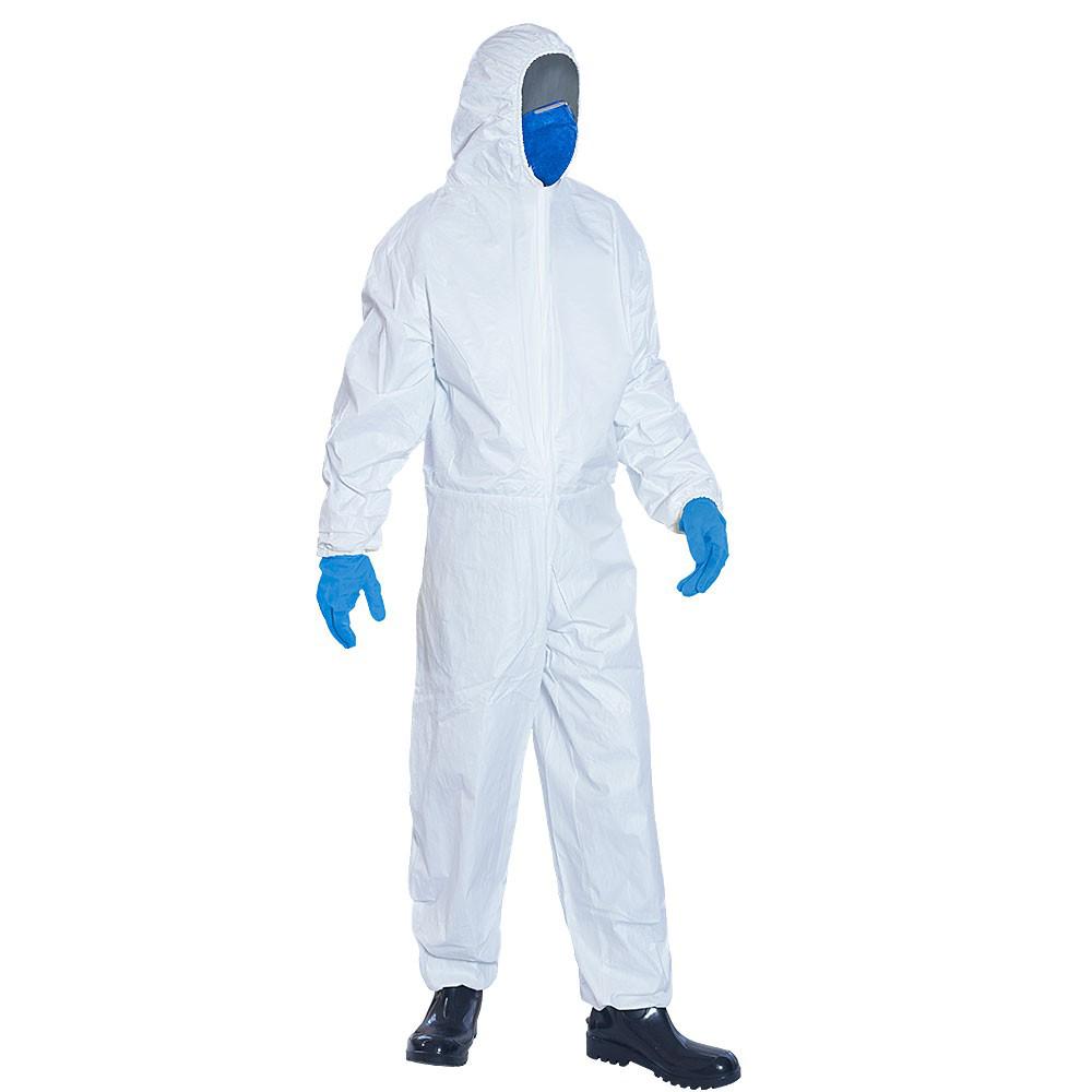 Macacão de Segurança Super Safety Tnt Branco Tam. 278d7ec892