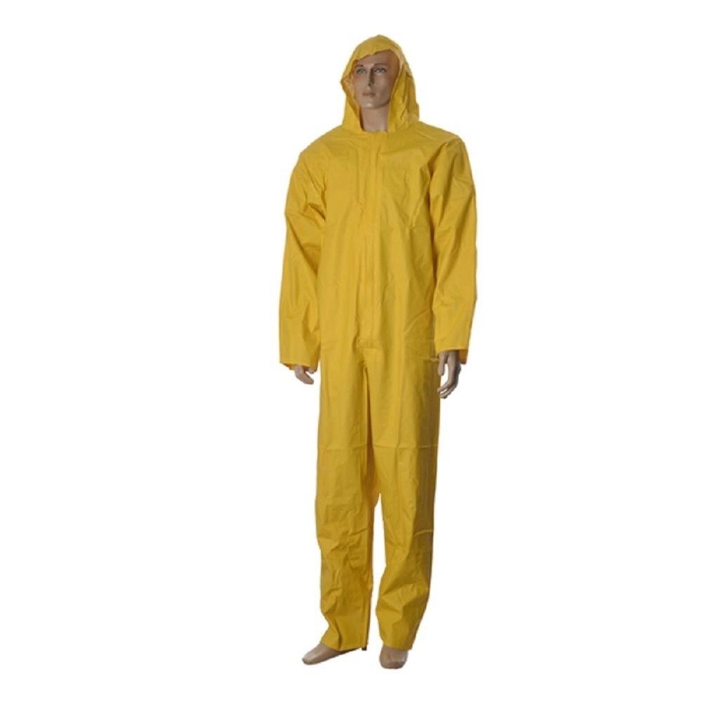 Macacão Impermeável PVC Amarelo Maicol