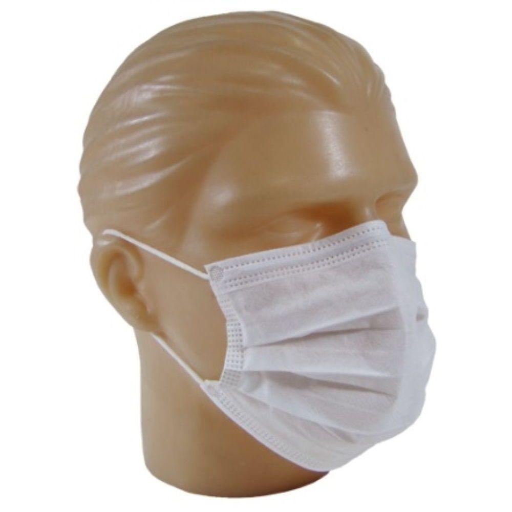 Máscara Descartável AnaDona Tnt Branca 100 Unid.