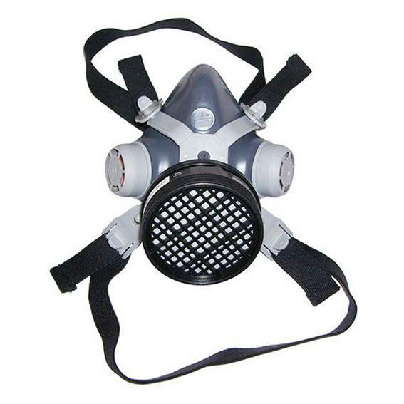 Respirador 1/4 Facial Destra Mig 11 Destra 1 Filtro Vo+Ga + Pre Filtro P2 + Tampa Acoplar