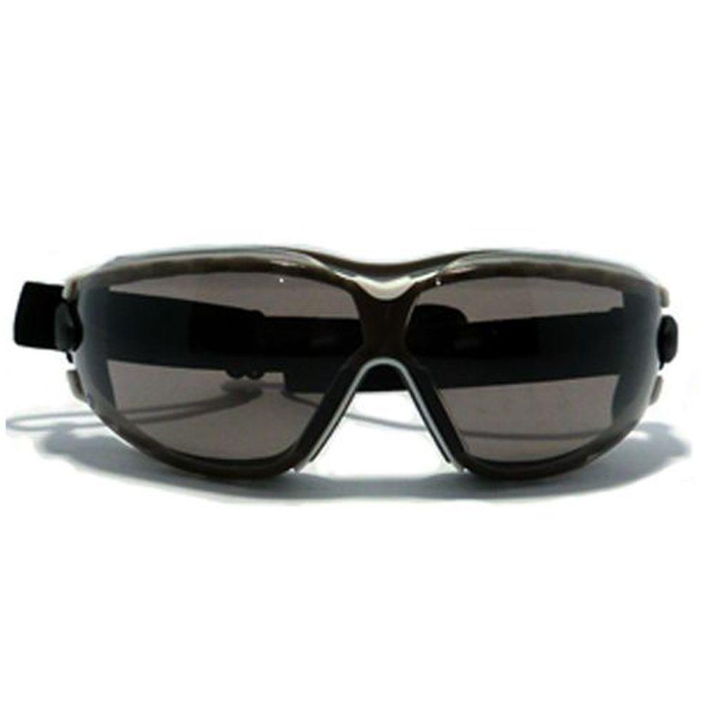 5852a13c8b351 ... Óculos Kalipso Aruba Cinza Fumê Antiembaçante - NOVA PROTECT