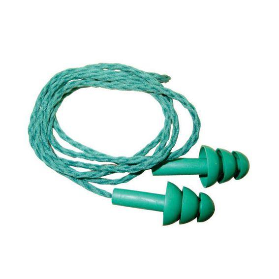 Protetor Auricular Protect Plug de Silicone Cordão 13db - 50 Unid.